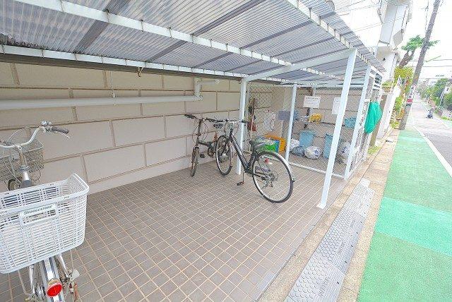 キクエイパレス上野毛 ゴミステーション
