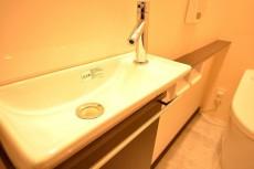 マンション南恵比寿 トイレ手洗いカウンター