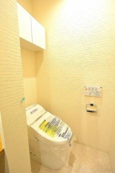 江戸川橋ダイヤハイツ サニタリールームのトイレ