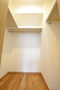 江戸川橋ダイヤハイツ 8.3帖のベッドルームWIC