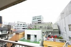 江戸川橋ダイヤハイツ 南側バルコニー眺望