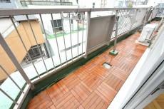 江戸川橋ダイヤハイツ 南側バルコニー