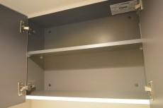 自由ヶ丘フラワーマンション トイレ内の吊戸棚