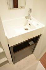 自由ヶ丘フラワーマンション 洗面化粧台