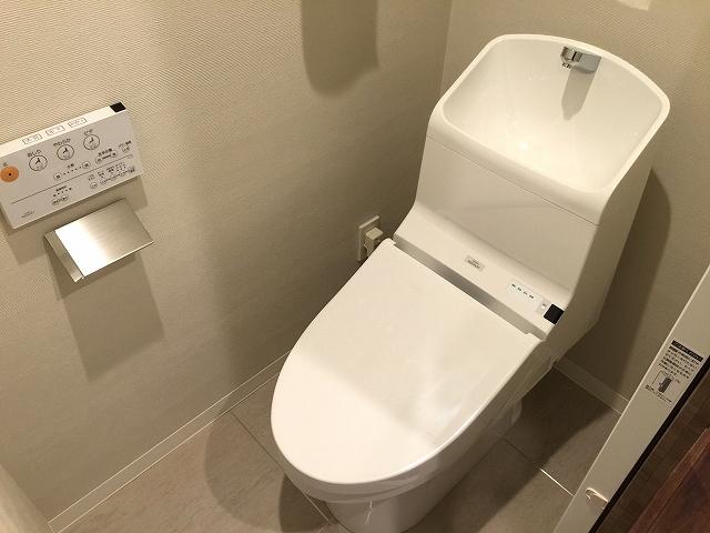 中野東豊マンション トイレ
