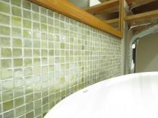 ニューハイツ大森 洗面化粧台のタイル