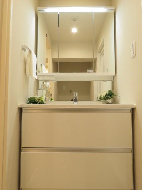 財形第3御殿山マンション 洗面化粧台