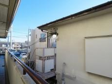 キクエイパレス上野毛 廊下からの眺望