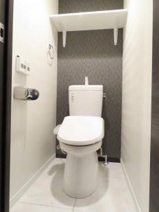 松見坂武蔵野マンション ウォシュレット付きトイレ
