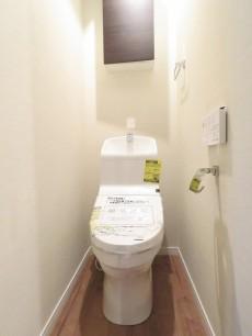 ライオンズマンション北馬込 ウォシュレット付きトイレ