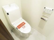モアグランデ浜松町 ウォシュレット付きトイレ