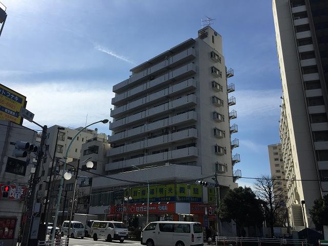 ライオンズマンション北新宿 外観