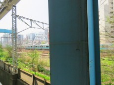 モアグランデ浜松町 共用廊下からの眺望