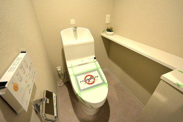 烏山南住宅1号棟713号室 トイレ (1)