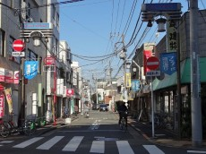 西蒲田ダイヤモンドマンション 商店街