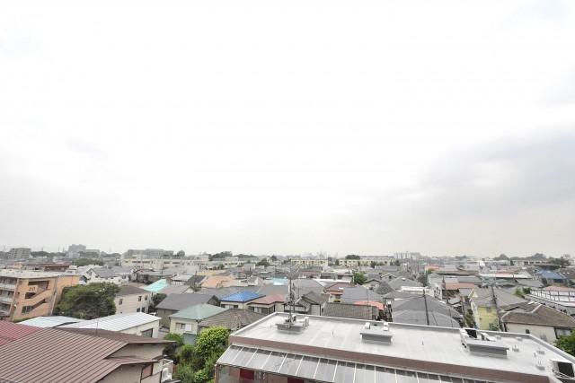中銀桜新町マンシオン バルコニー