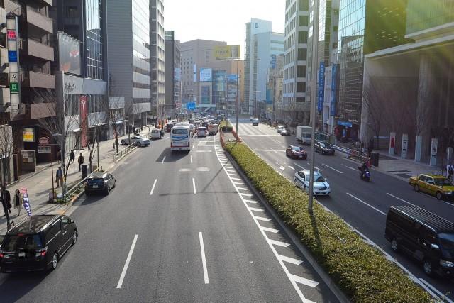 フォンテ青山 前面道路