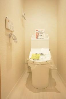 秀和南大井レジデンス ウォシュレット付きトイレ
