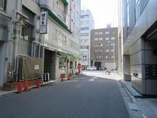 セブンスターマンション第一日本橋 エントランス前道路