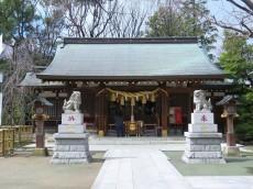 ノトス多摩川フレックス 新田神社