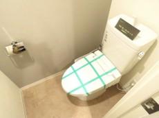 山王スカイマンション ウォシュレット付きトイレ