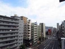 セブンスターマンション中目黒 洋室側バルコニー眺望