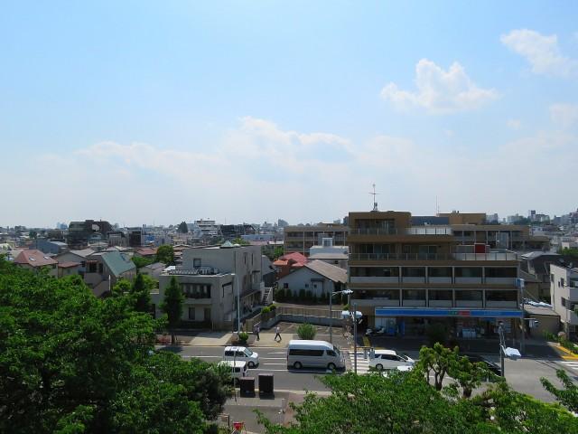 東北沢コーポラス サービスルームからの眺望