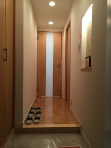 トーア駒込 玄関