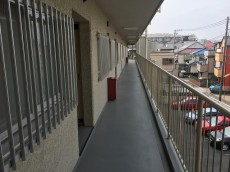 パーク・ハイム淡島 外廊下