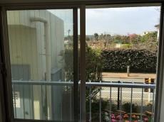 砧公園スカイハイツ リビングダイニングキッチン窓