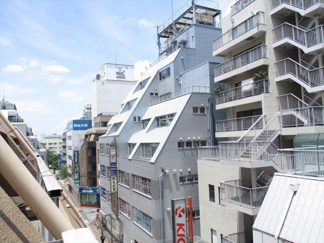西蒲田スカイハイツバルコニー