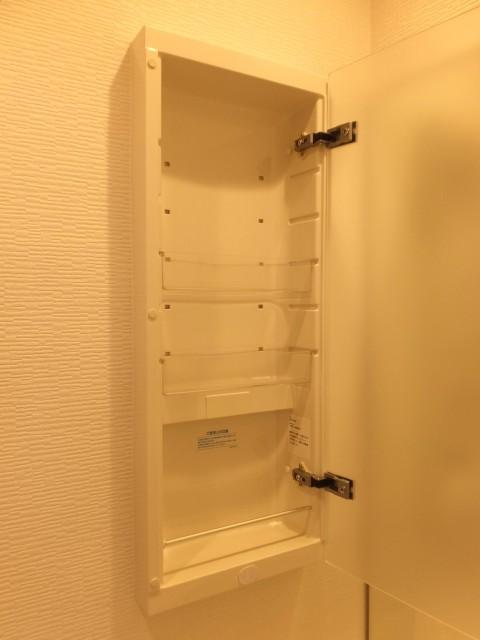 白金台グロリアハイツ 洗面室収納