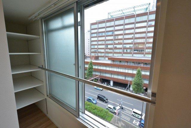 マンション五反田 ダイニング窓