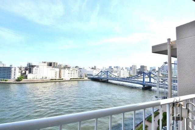 ハイツ日本橋中洲 バルコニー