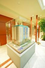 デューク・スカーラ日本橋_エントランスホールのマンション模型