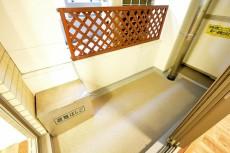 デューク・スカーラ日本橋_6.0帖のベッドルームのバルコニー