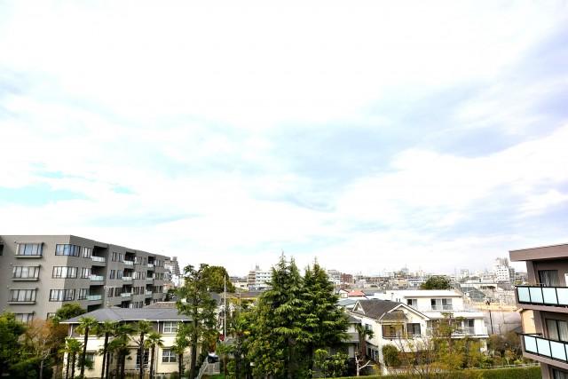 ヴェーゼント芦花公園 北バルコニー眺望