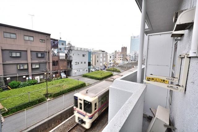 幡ヶ谷コーエイマンション バルコニー
