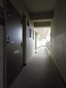 武蔵小山フラワーマンション 共用廊下