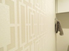 洗足ミナミプラザ トイレのクロス
