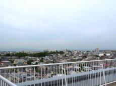 洗足ミナミプラザ 共用廊下からの眺望