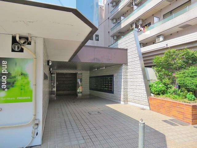 武蔵小山フラワーマンション エントランス