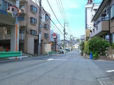 祐天寺ニュースカイマンション 前面道路