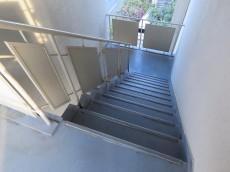 代官山コーポラス 共用階段