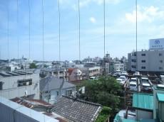 ビラ自由ヶ丘 洋室からの眺望