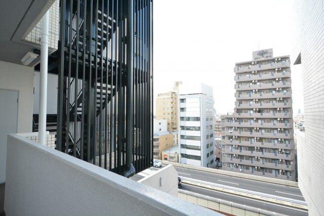 グリーンキャピタル第2笹塚 外廊下