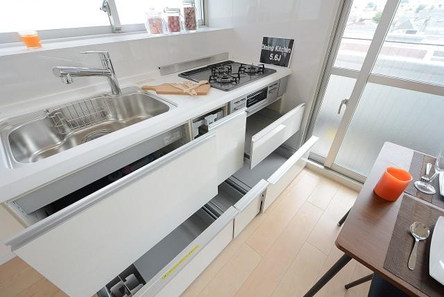 中銀桜新町マンシオン キッチン