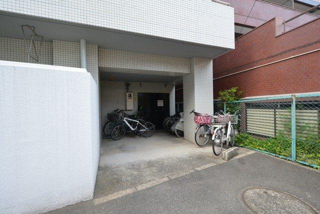 グリーンキャピタル第2笹塚 駐輪場