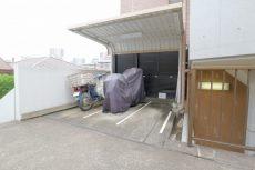 エタンセレ五反田 バイク置場