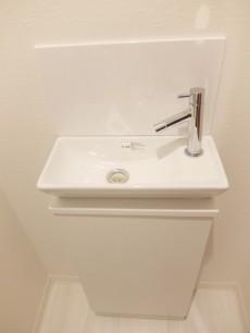 パレ・ド・エール砧 トイレ手洗い